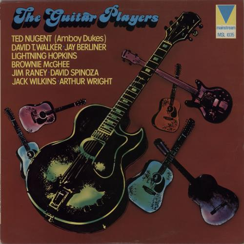 Various60s & 70s The Guitar Players 1974 UK vinyl LP MSL1035