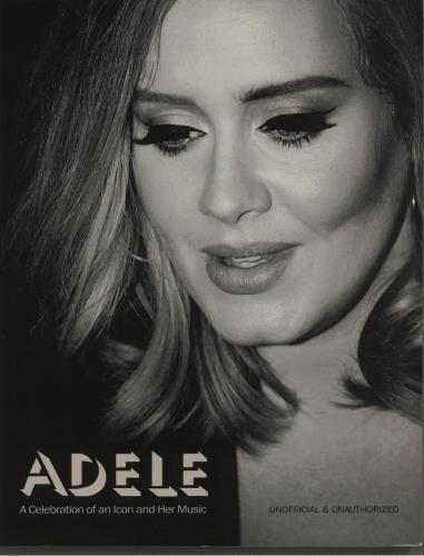 Adele A Celebration Of An Icon And Her Music 2016 UK book 9781780978239