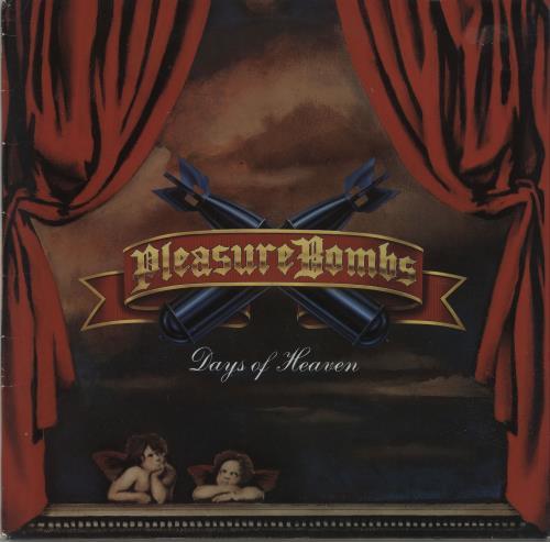Image of Pleasure Bombs Days Of Heaven 1991 German vinyl LP 7567-91779-1