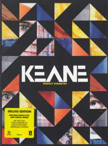 Keane (00s) Perfect Symmetry 2008 UK 2disc CDDVD set 1784417