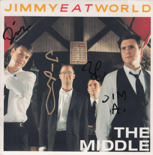 Jimmy Eat World - The Middle - Autographed