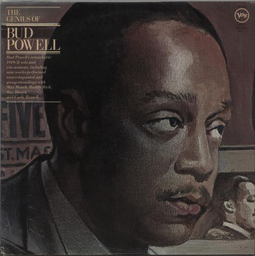 Bud Powell The Genius Of Bud Powell 1979 USA 2LP vinyl set VE22506