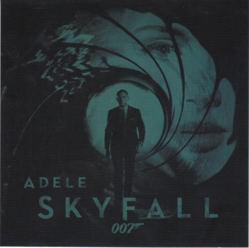 Adele Skyfall  Press Release 2012 Japanese CD single XLS593CDJ