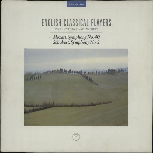 English Classical Players Mozart Symphony No. 40  Schubert Symphony No. 5 1990 Dutch 2LP vinyl set CKH003