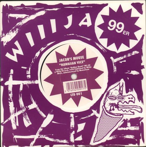 Jacobs Mouse Hawaiian Vice 1994 UK 7 vinyl LTD001