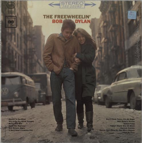 Bob Dylan The Freewheelin Bob Dylan  Sealed USA vinyl LP CS8786