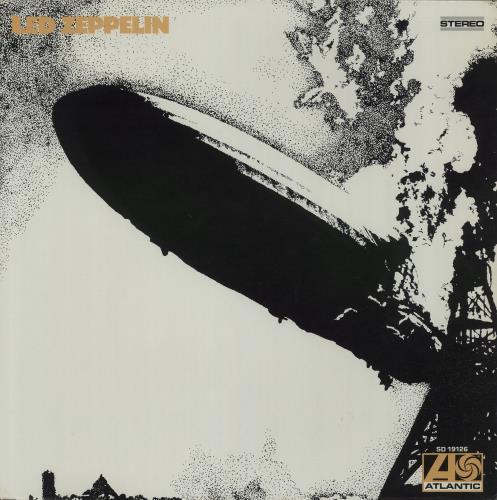 Led Zeppelin - Barcoded P/s - Led Zeppelin