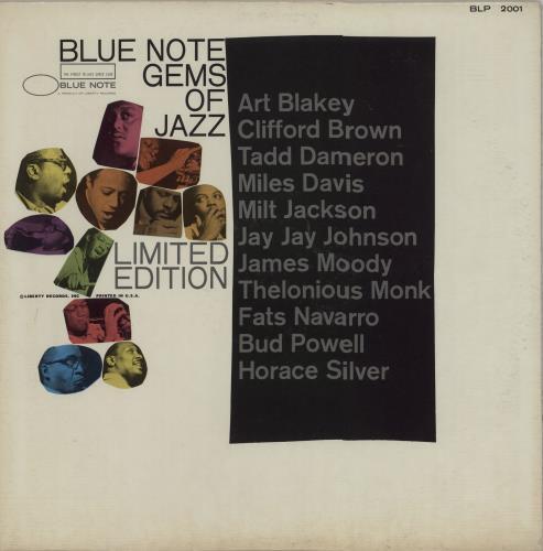 Blue Note Blue Note Gems Of Jazz 1967 USA vinyl LP BLP2001