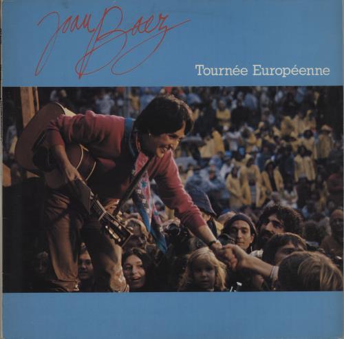 Joan Baez Tournée Européenne 1980 Dutch vinyl LP PRT84791