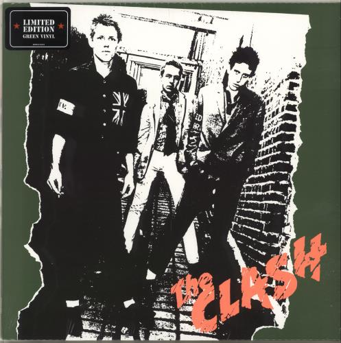 The Clash The Clash  Green 1977 UK vinyl LP 88985316581