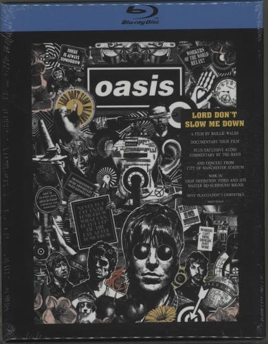 Oasis Lord Dont Slow Me Down  Sealed 2008 UK Blu Ray 0602517656604