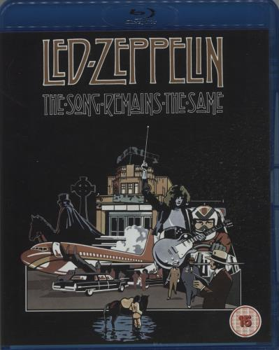 Led Zeppelin The Song Remains The Same 2007 UK Blu Ray Z1Y15711