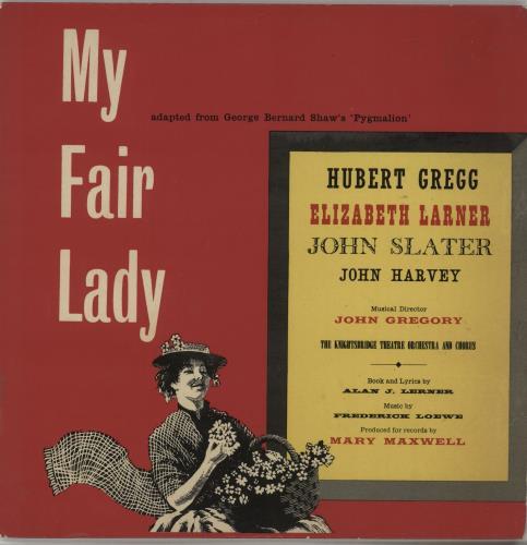 VariousFilm Radio Theatre & TV My Fair Lady 1958 UK 10 vinyl 505
