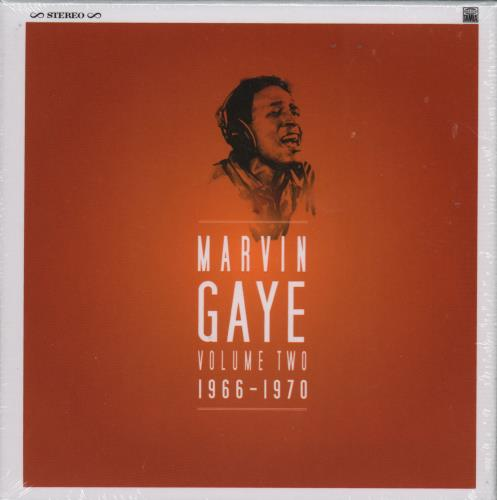Marvin Gaye Volume Two 1966 - 1970 - Sealed 2016 UK cd single boxset 0600753667385