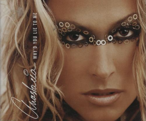 Anastacia Whyd You Lie To Me 2002 Australian CD single SAMP2502