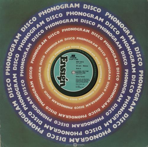 Eddy Grant Living On The Frontline 1979 UK 12 vinyl ENY2612