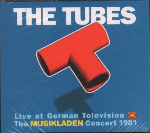 The Tubes The Musikladen Concert 1981 2016 German CD album SIR2159
