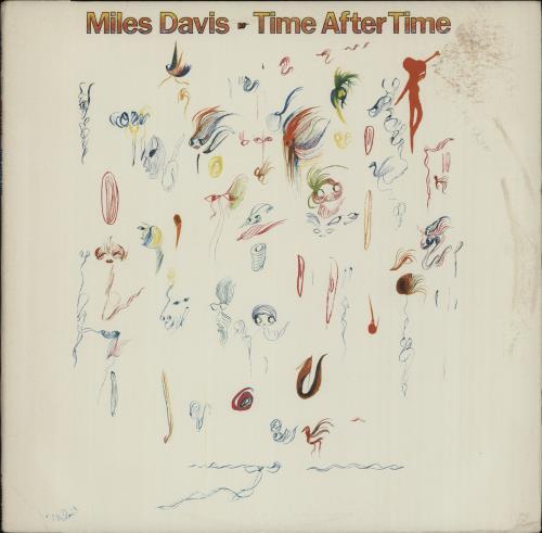 Miles Davis Time After Time 1984 USA 12 vinyl 4405125