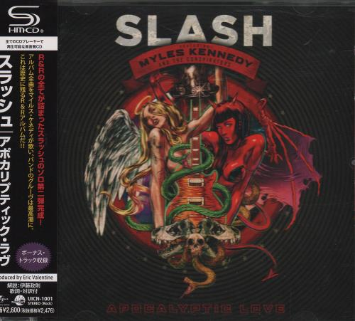 Slash Apocalyptic Love 2012 Japanese SHM CD UICN1001