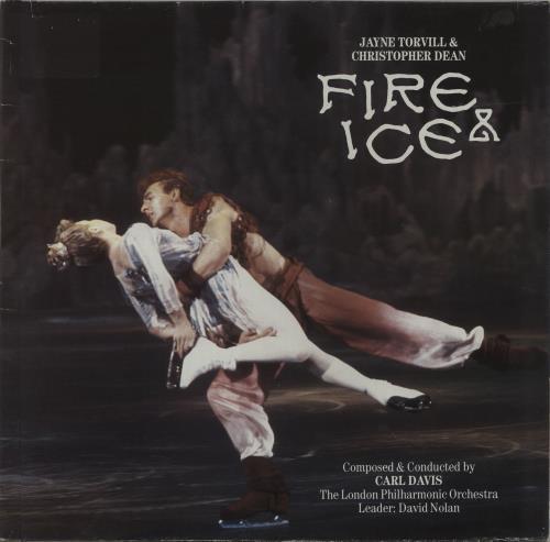 Carl Davis Fire & Ice 1986 UK vinyl LP CAST7
