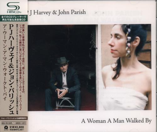 P.J. Harvey A Woman A Man Walked By 2009 Japanese SHM CD UICI1079