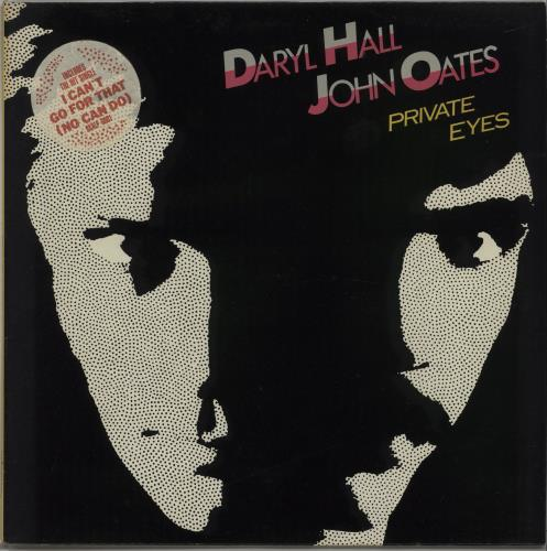 Hall & Oates - Private Eyes - Stickered Sleeve