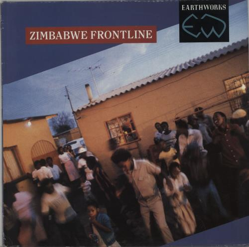 VariousWorld Music Zimbabwe Frontline 1988 UK vinyl LP EWV9
