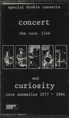 The Cure Concert  The Cure Live 1984 Dutch cassette album 8236824