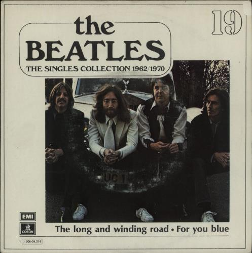 The Beatles The Long And Winding Road 1976 Spanish 7 vinyl 1J00604.514