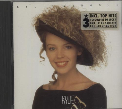 Kylie Minogue Kylie 1988 German CD album 8.26836
