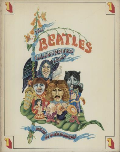 The Beatles The Beatles Illustrated Lyrics Volumes 1 & 2 1980 UK book 03540422110354042211