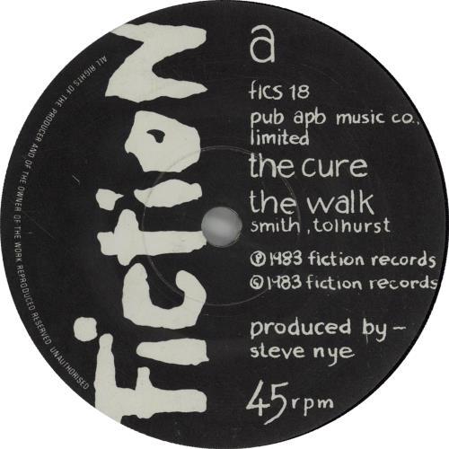 Cure - The Walk Single