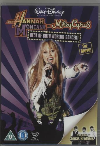 Hannah Montana Hannah Montana and Miley Cyrus  Best of Both Worlds Concert 2009 UK DVD BUA0087501