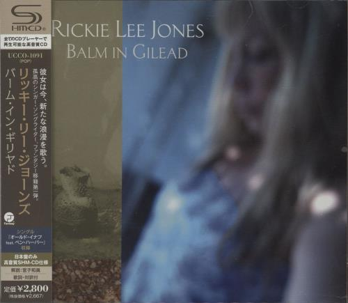 Rickie Lee Jones Balm In Gilead 2009 Japanese SHM CD UCCO1091