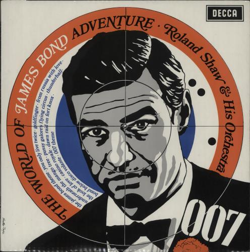 Roland Shaw The World Of James Bond Adventure 1971 UK vinyl LP SPA158