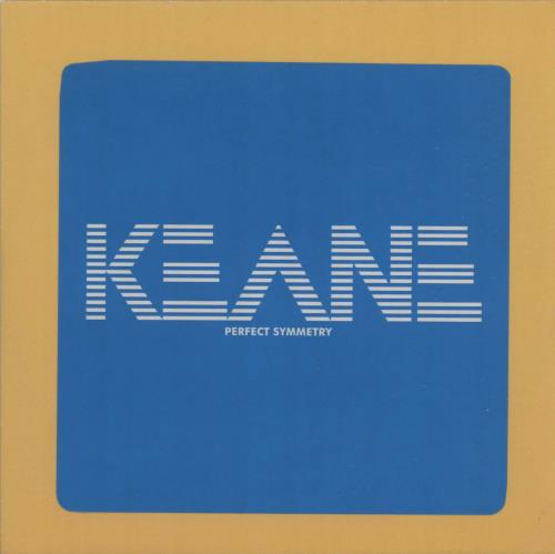 Keane (00s) Perfect Symmetry 2008 UK CDR acetate CDR
