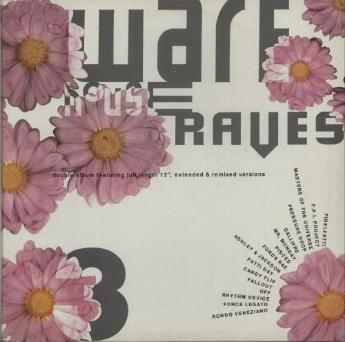 VariousDance Warehouse Raves 3 1990 UK 2LP vinyl set RUMLD103