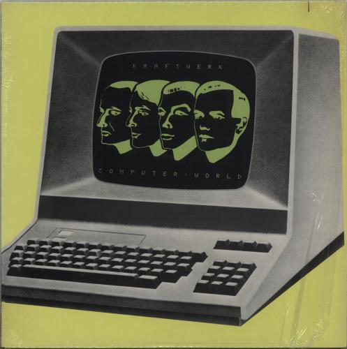 Kraftwerk Computer World  Shrink 1981 USA vinyl LP HS3549