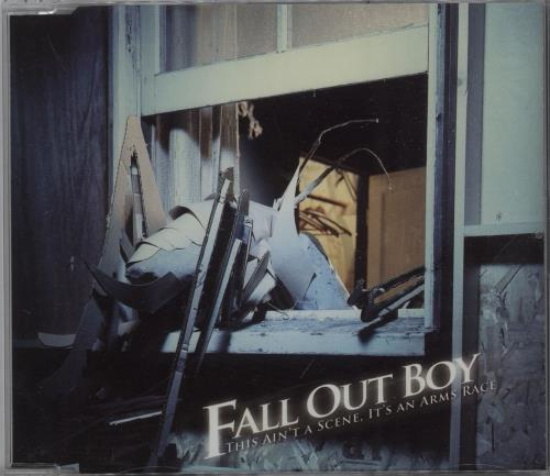 Fall Out Boy This Ain\'t A Scene, It\'s An Arms Race 2007 UK CD single SCENECJ1