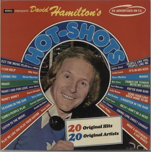 Various-60s & 70s David Hamilton\'s Hot Shots 1976 UK vinyl LP WW5014