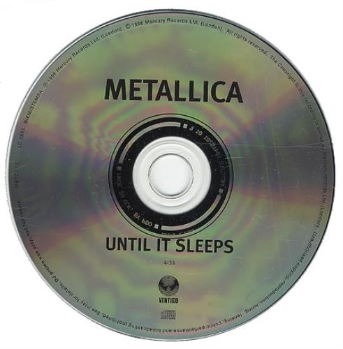 Metallica - Until It Sleeps Vinyl