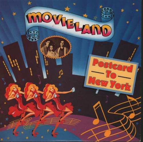 "Image of Movieland Postcard To New York 1986 UK 7"" vinyl PB49853"
