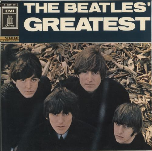 The Beatles The Beatles Greatest  Blue Label 1969 German vinyl LP 1C06204207