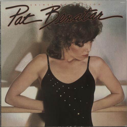 Image of Pat Benatar Crimes Of Passion 1980 French vinyl LP CHR1275