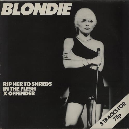 Blondie Rip Her To Shreds 1977 UK 12\