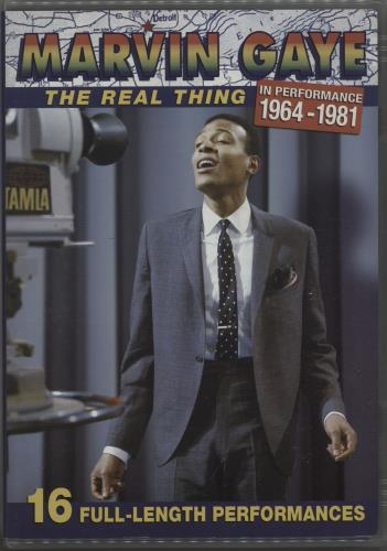Marvin Gaye The Real Thing 2006 USA DVD B0006453-09