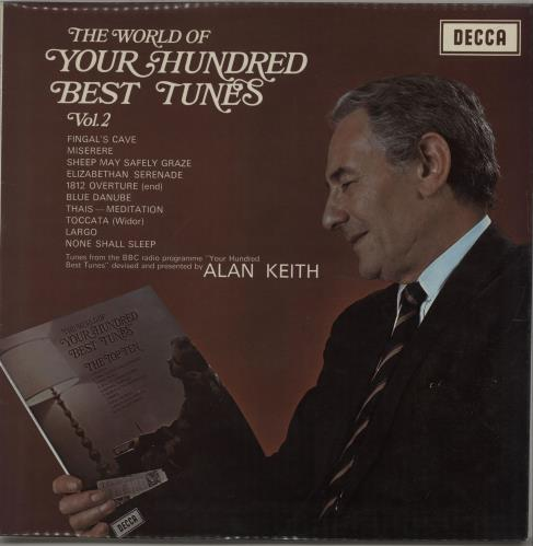 Image of Various-Orchestral The World Of 'Your Hundred Best Tunes' Vol. 2 1971 UK vinyl LP SPA155