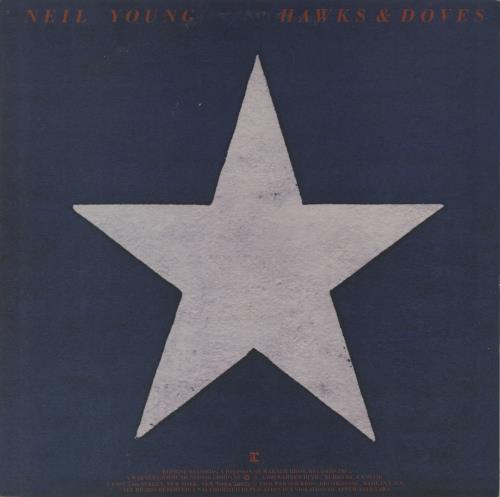 Neil Young Hawks & Doves 1980 Australian vinyl LP HS2297