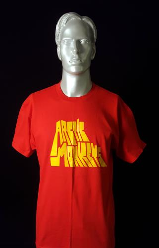 Image of Arctic Monkeys Live at Lancashire Country Cricket Ground - Red 2007 UK t-shirt T-SHIRT
