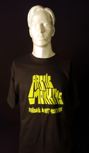 Image of Arctic Monkeys Live at Lancashire Country Cricket Ground - Black 2007 UK t-shirt T-SHIRT